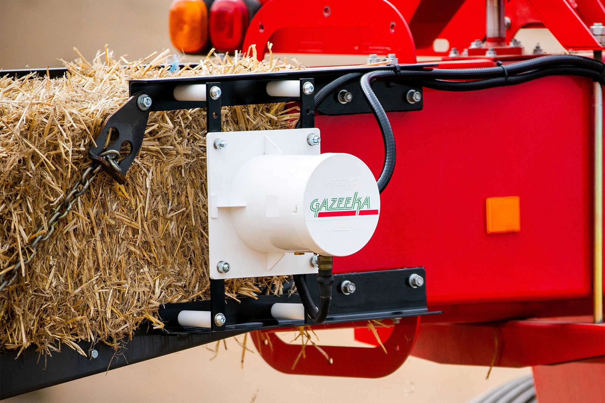 Gazeeka Model 180 Moisture Guage on baler