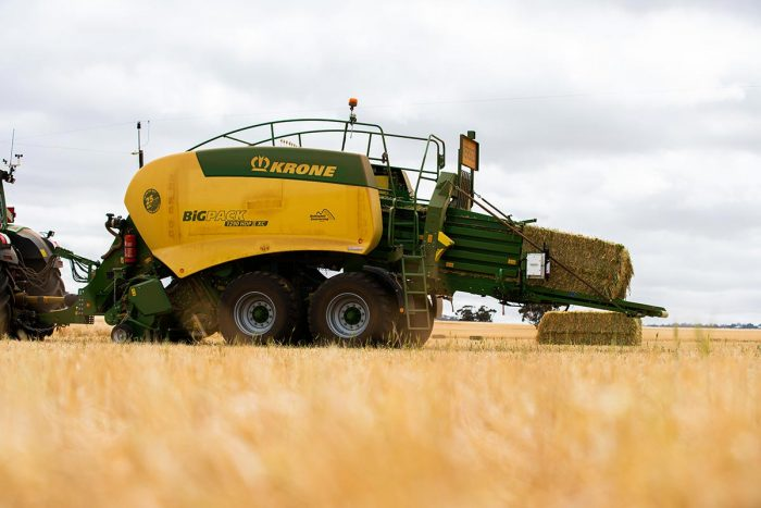 Krone Baler and Gazeeka Model 870