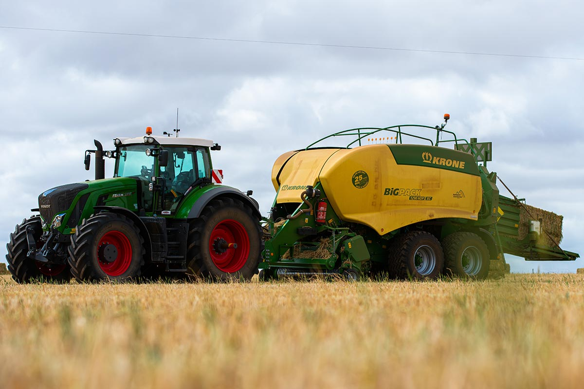 Fendt, Krone and Gazeeka Model 870